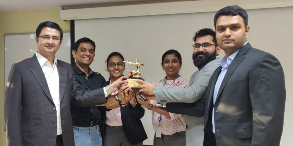 'Best Supply Chain Project' at NITIE's Lakshya Avartan
