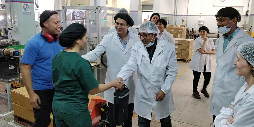 Shopfloor engagement activities at our Godrej Latin America factories