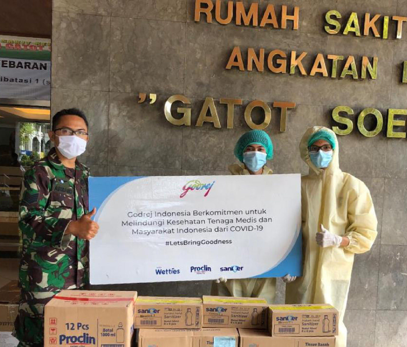 Supporting relief efforts across our geographies
