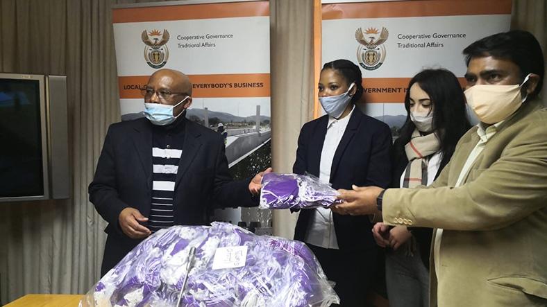 Donating Godrej-manufactured face masks