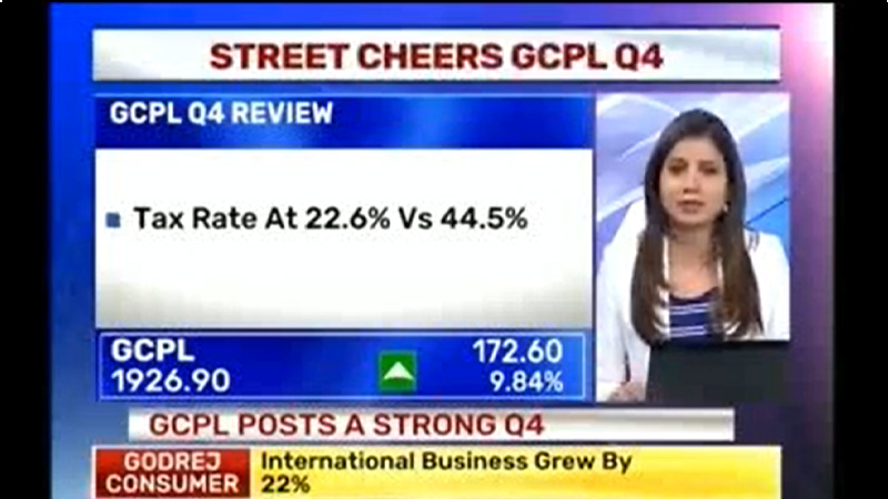 GCPL announces Q4 FY17 results